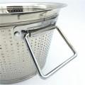 Kitchen Vegetable Fruit Storage Basket  ,Sink Kitchen Basket Round Rice Washing Basket