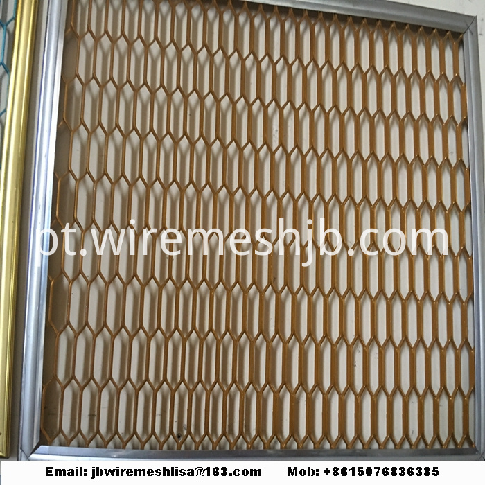 Galvanized Hexagonal Expanded Metal Mesh