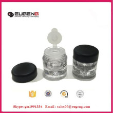 High quality pigment powder jar with sifter