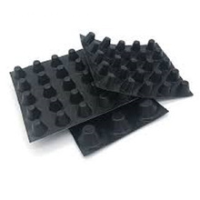 100 % HDPE Recycling Regenerate Drainage Board