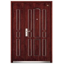 steel wood armored doors