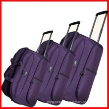 1680d Fabric Aluminum Trolley Duffle Bag Set