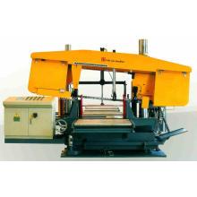 Machine de découpe de tubes à double colonne en H