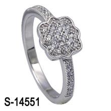Último anillo de bodas de plata de la joyería 925 de la manera (S-14551. JPG)