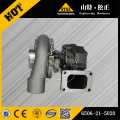 Carregador turbo Komatsu PC400-8 6506-21-5020