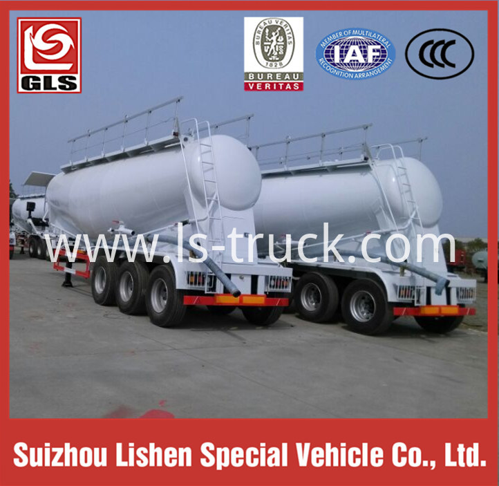 Bulk Cement Tank Semi Trailer,Bulk Powder Truck Trailer for Sale