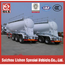 Bulk Cement Tank Semi Trailer for Sale,air compressor driven by PTO