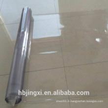 Rouleau de feuille transparent en PVC souple très mince