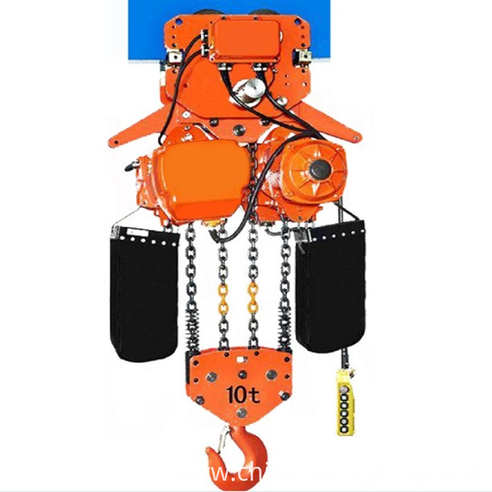 10t Low Headroom Electric Chain Hoist Lt