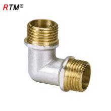 L 17 4 12 cotovelo de encaixe de bronze cotovelo cotovelo masculino acessórios de compressão cotovelo de 90 graus