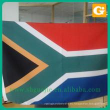 Diferente fabricante de banderas nacionales