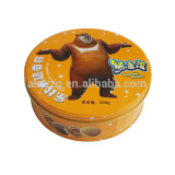 round shape cookie food box packaging wholesale                                                                                                         Supplier's Choice