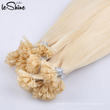 Super Quality Pre Bonded Human Double Drawn Cuticle Aligned Nail U tip Hair Extensions