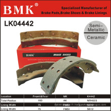 Mâchoires de frein Isuzu de haute qualité (K4442)
