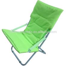 Chaise longue pliante en tissu Oxford