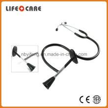 Medical Chrome Plated Brass Binaural Fetal Stethoscope 22 Inch Tubing