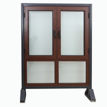 Top Quality Aluminum Cladding Larch Wood Windows,