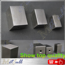 Solid Stainless Steel Cuboid Furniture Handle