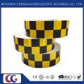 Blau / Weiß Gitter Design Reflektierendes Erkennungsband (C3500-G)