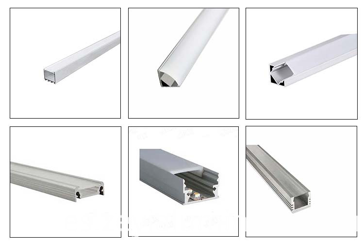 Led Strips Of Various Shapes Aluminum Profile