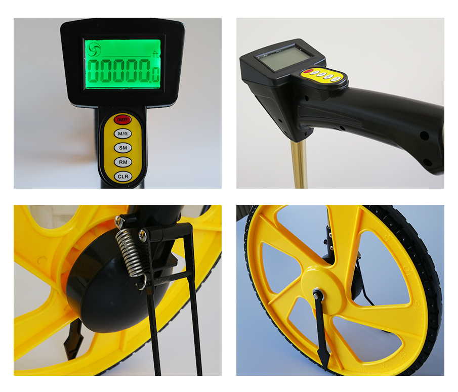 Digital Display Measuring Wheels Distance Measuring Tools