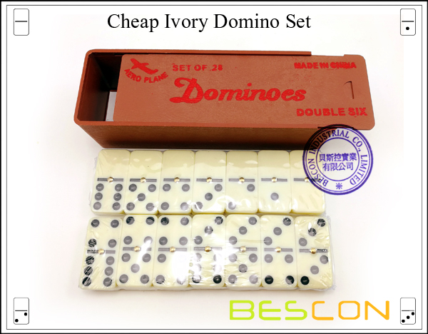 Cheap Ivory Domino Set
