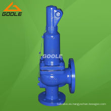 Válvula de seguridad de presión de elevación completa con resorte 901/902 DIN