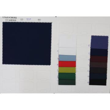 40s de alta densidad 100% tela de algodón liso con revestimiento