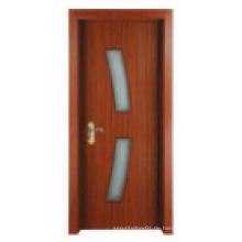 Einfache klassische Design Solide Holztür