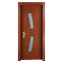 Simple Classical Design Solid Wooden Door