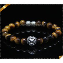 Neue Design Fashion Armbänder mit Tiger Eye Stone Perlen (CB0116)