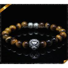 Bracelets de mode nouvelle conception avec perles de pierre à oeil tigre (CB0116)