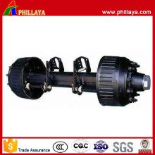 8-20 Tons German Type Trailer Suspension Parts Axle