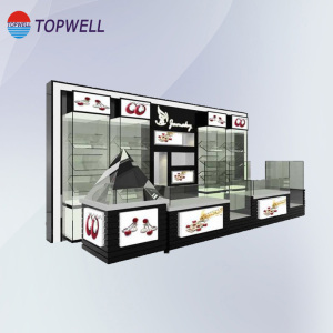 Cosmetic Display Cabinet Of Plastic material