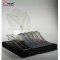 Distinguir su empresa y mercancía digno de la comercialización Joyería Led acrilico Display Counter