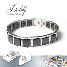 Destiny Jewellery Crystals From Swarovski Bracelet Black Ceramics Bracelet
