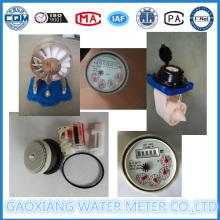 Wasserzählerregister, Wasserzählermechanismus