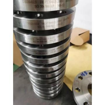 Zirconium Forged Blind Orifice Plate 150# 4'' Flanges