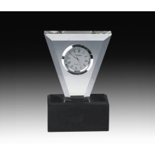 Customized Crystal Table Clock