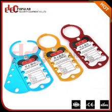 Colorful Secuiry Eight Hole Master Lock Aluminum Hasp