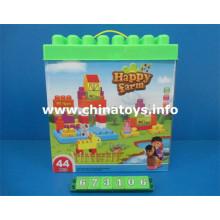 Neue Kunststoff pädagogische Baustein Spielzeug (673106)