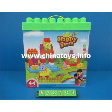 Nouveau jouet de bloc de construction éducatif en plastique (673106)