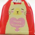 Красная сумка для подарка