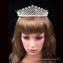 Elegante Strass-Tiara-Hochzeit Headwear