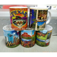 11oz Sublimation Weißer Becher, 11oz Phono Becher