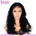 Produits de vente mondiale sans colle Full Lace perruques péruvienne cheveux humains sans colle perruques