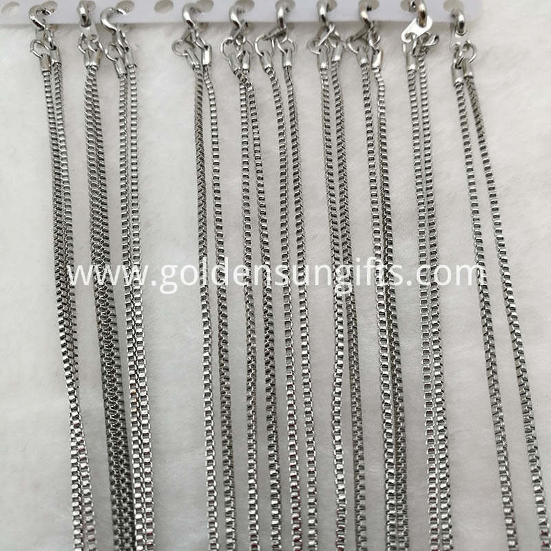Bulk Wholesale Lattice Chain Necklaces