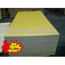 12mm,15mm,18mm yellow film faced Plywood
