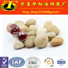 Tratamiento de aguas de los medios de filtro 6-8 milímetros de piedra natural del guijarro para la venta