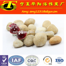 Natural water filter stone pebble filter media for water treatment